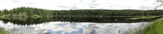 dam lake panor