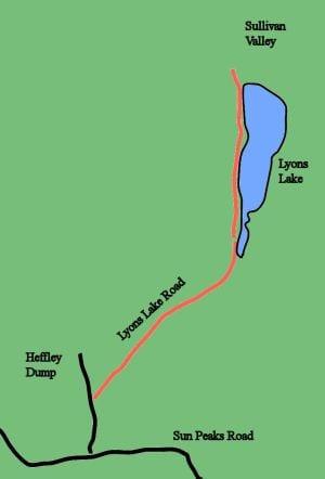lyons lake route