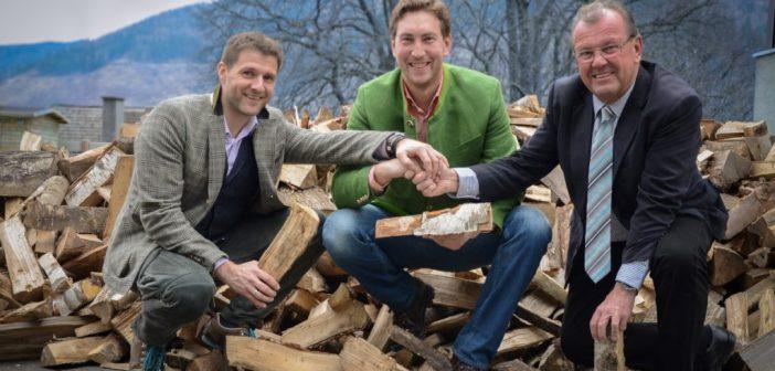 Brennholzspende für eine bedürftige Person
