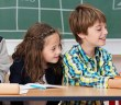 Kinder in der Volksschule