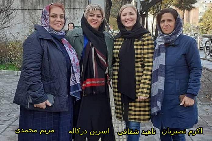 اعضای ندای زنان ایران