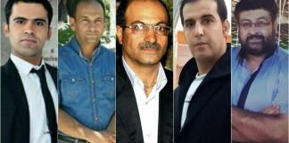 رسول رضوی، حسین امیر هجری، حسین محمدیان، سعید سلطانی و بابک کیومرثی
