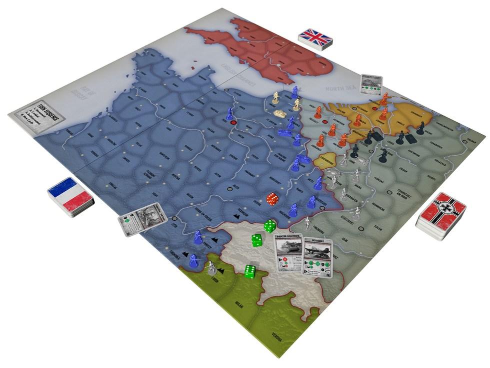 Battle of France prototype 3D mock-up