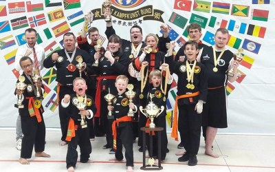 "Kampfkunstschule Tetzlaff wird erneut ""Bestes Team der Weltmeisterschaft"""