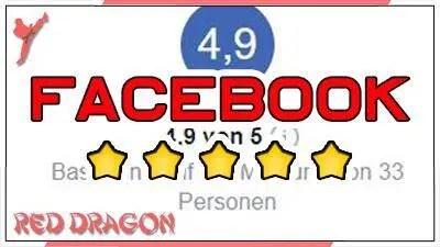 Finde und bewerte uns - Facebook