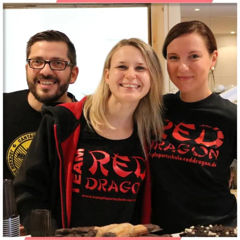 Teil des Teams RED DRAGON Kampfkunst - Blog 2020