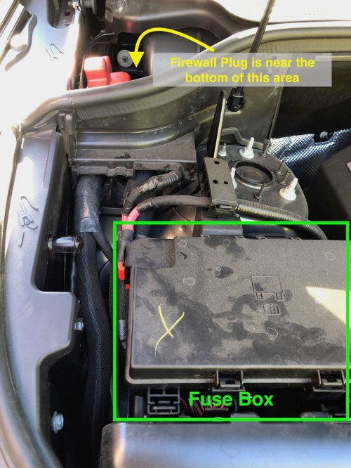 small resolution of looking in the engine compartment you will see the fuse box to the starboard side behind it is a smaller compartment which will refer to as the firewall