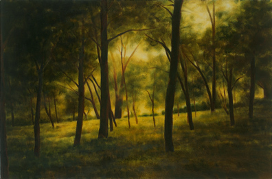 April Gornik, Light through the Forest