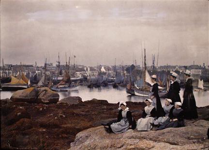 Breton coast, early 20th C