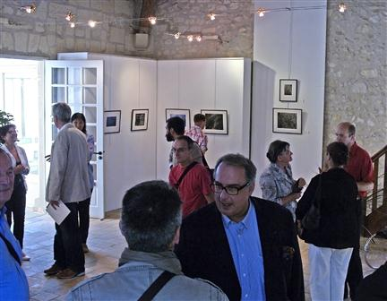 Vernissage, pavillon Charles X
