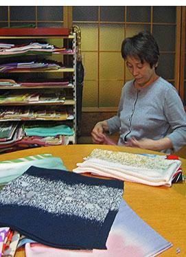 Yamato Textile Factory shop