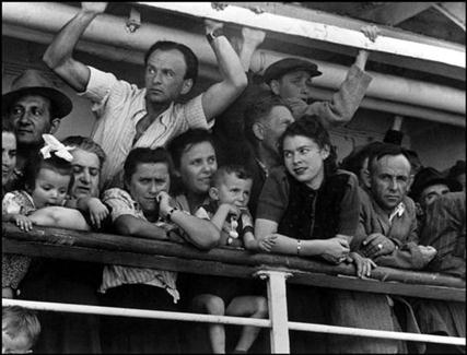 Robert Capa, Haifa Refugees