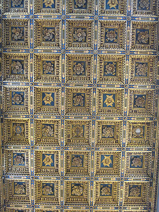 Ceiling of Pisa Cathedral