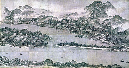 Sesshu Toyo's View of Amano-hashidate