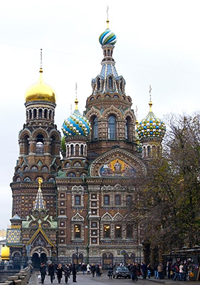 Resurrection Church, St Petersburg