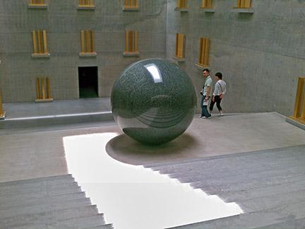 Walter de Maria installation, ChiChu Museum