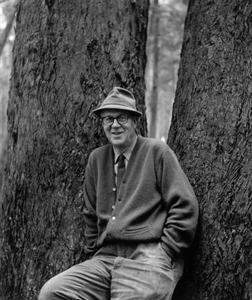 Portrait of Wynn Bullock by Imogen Cunningham
