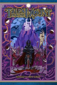 Tales from the Mount Cover - purple artwork with a dark knight holding a sword