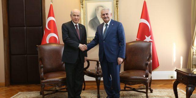 AK Parti Anayasa değişikliği teklifini MHP'ye sundu