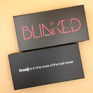 Black Lash Boxes