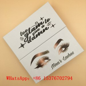 Custom Lash Packaging With Logo