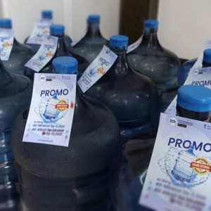 Bahaya Isi Ulang Air Minum Sembarangan