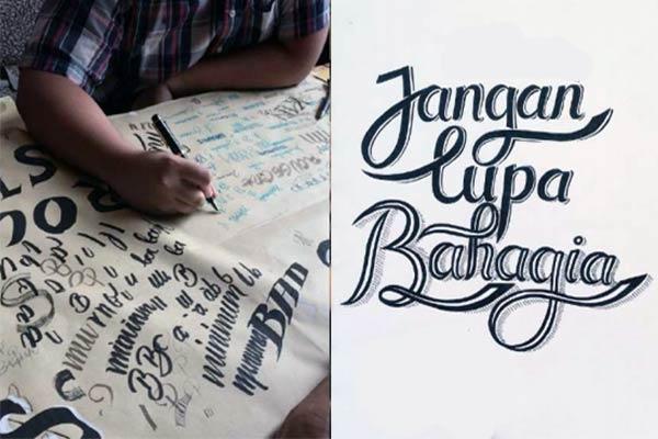 Seni Typography, Lettering dan Calligraphy