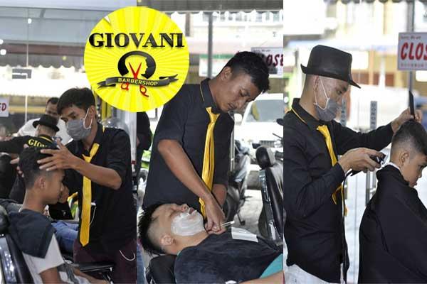 Potong Rambut di GIOVANI Barbershop