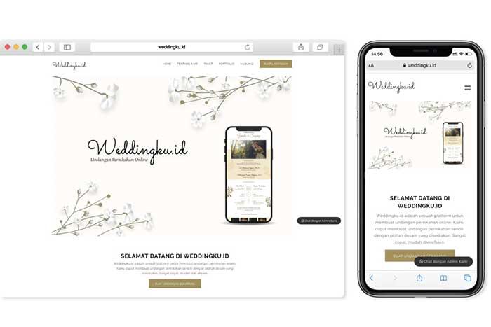 Undangan Pernikahan Online di Weddingku.id