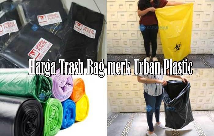 Harga Trash Bag merk Urban Plastic