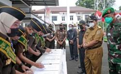 Gubernur Arinal Hadiri Deklarasi Pencanangan Zona Integritas di Kejati Lampung