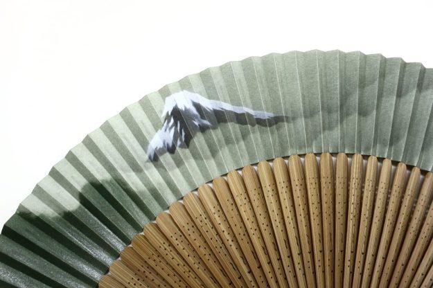 紳士用扇子 富士山