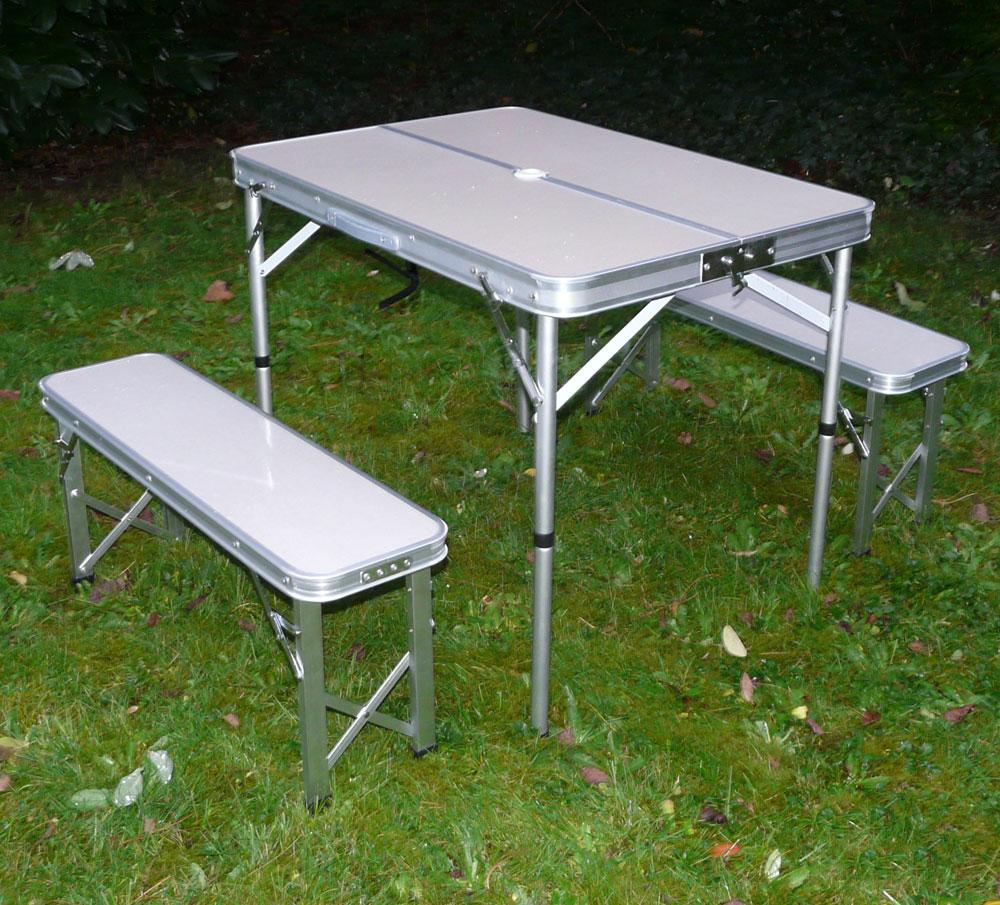 Mesas plegables de camping  ShareMedoc
