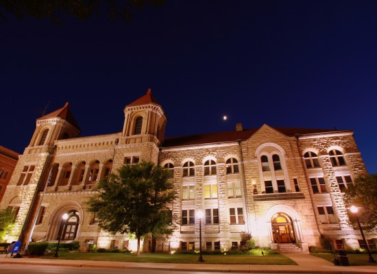 Kanawha County Courthouse at Night 2