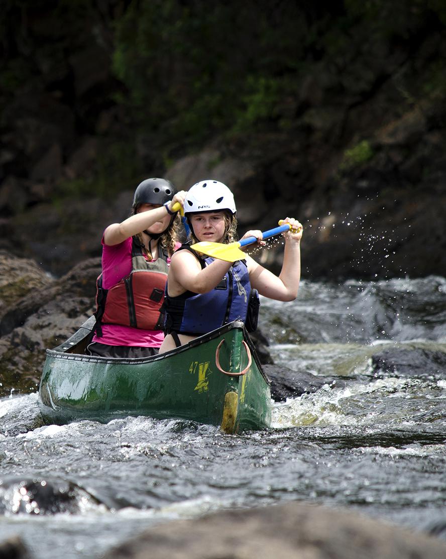 Kandalore Tripping Girls River Rafting