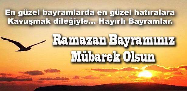 resimli ramazan bayramı mesajı
