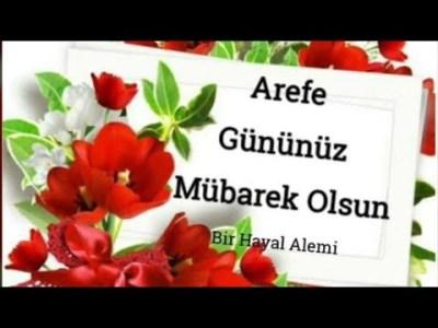arefe günü mesajları videosu