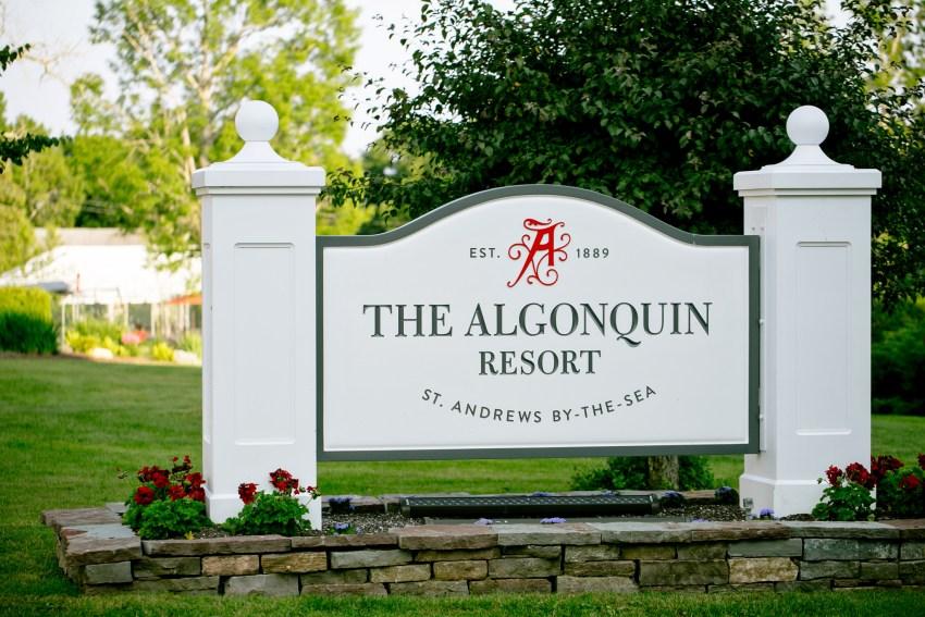 Algonquin Resort Wedding Photography