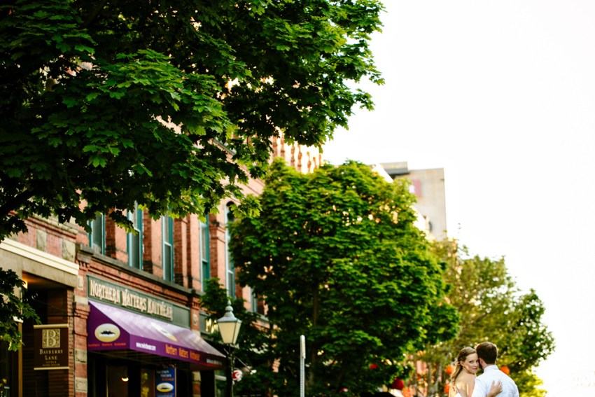 Downtown Charlottetown Wedding Portraits