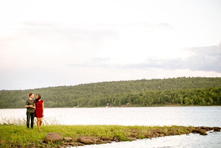 New Brunswick Lake Engagement Photos