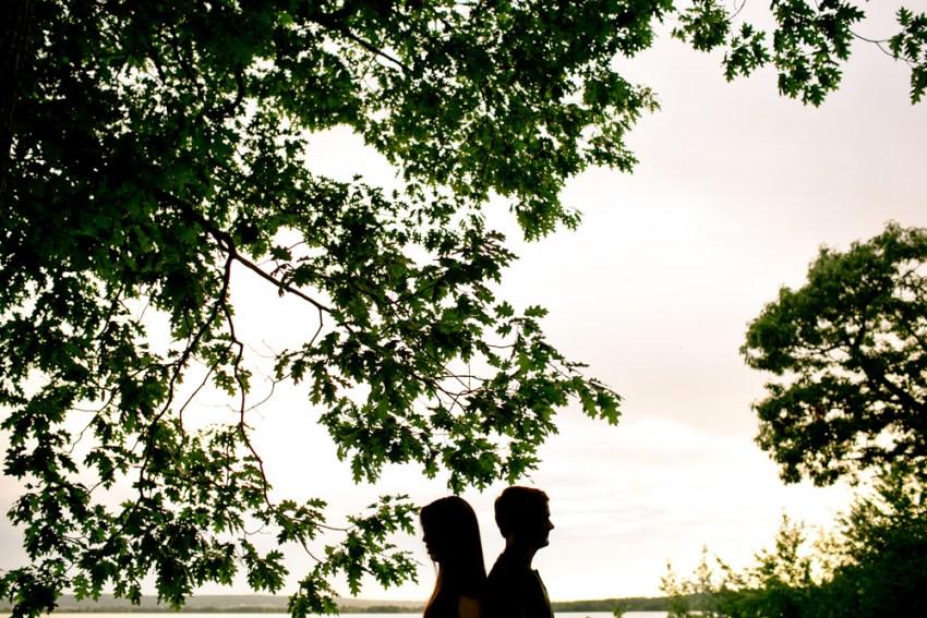 Outdoor Engagement Portraits