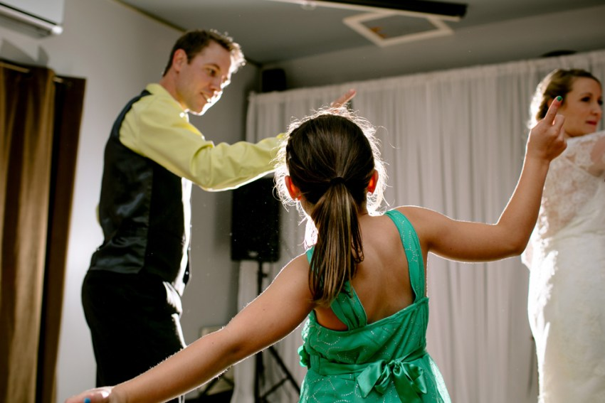 Dance Party Wedding Photography by Kandise Brown