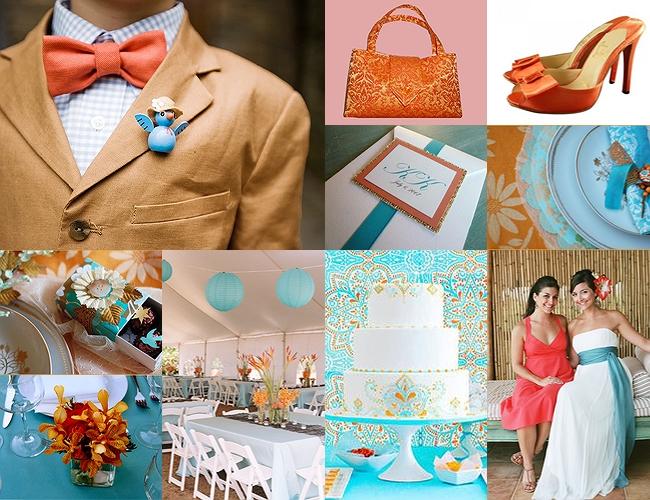 Turquoise Wedding Inspirations