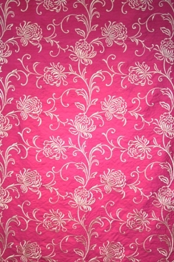 Black Velvet Damask Wallpaper Kelway Silk Adore Fabric Hot Pink Cream Collection