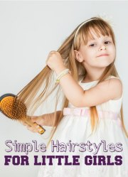 simple hairstyles little girls