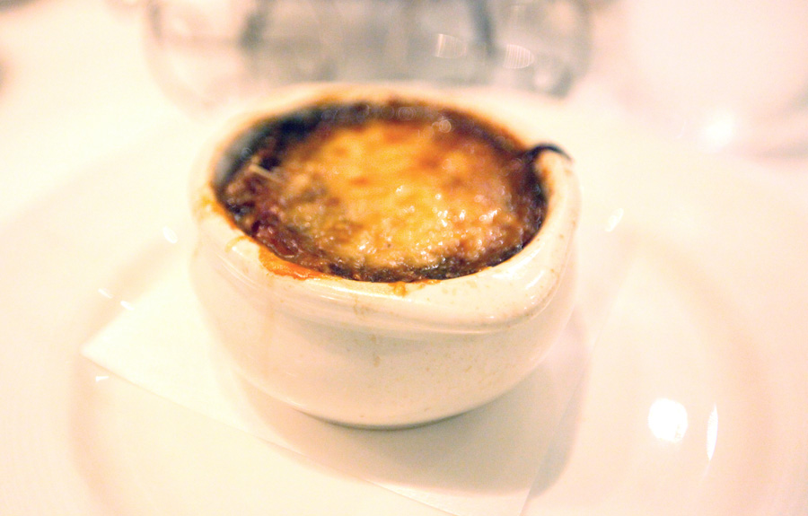 Belle's French Onion soup