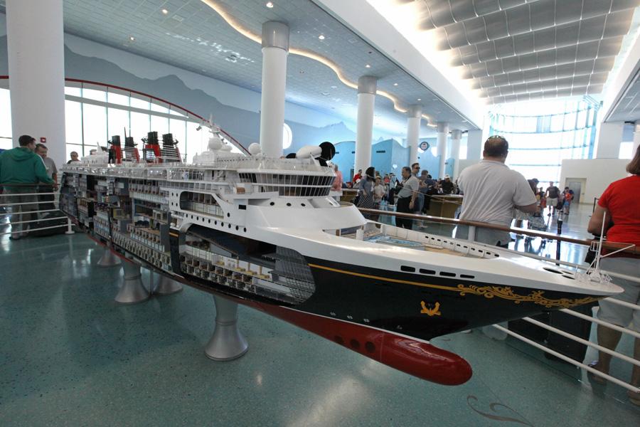 Disney Cruise Line model
