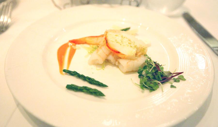 Lobster Shrimp salad