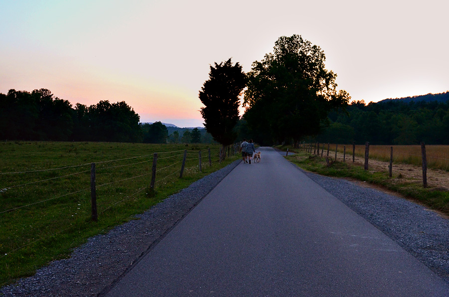 Cades-Cove-sunset