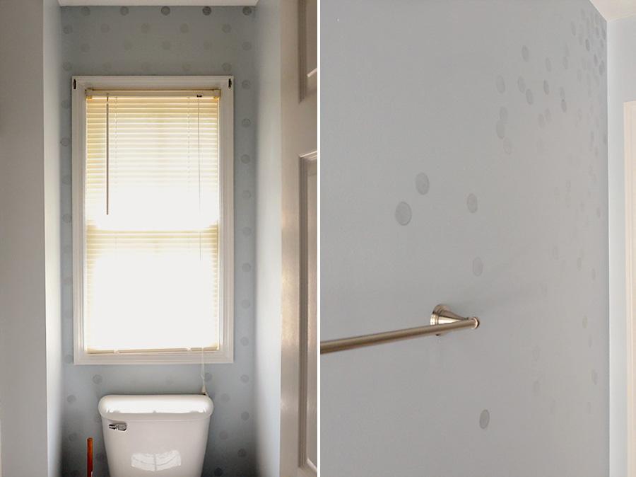 Guest-Bath-Toilet-Polka-Dots-Confetti-Wall